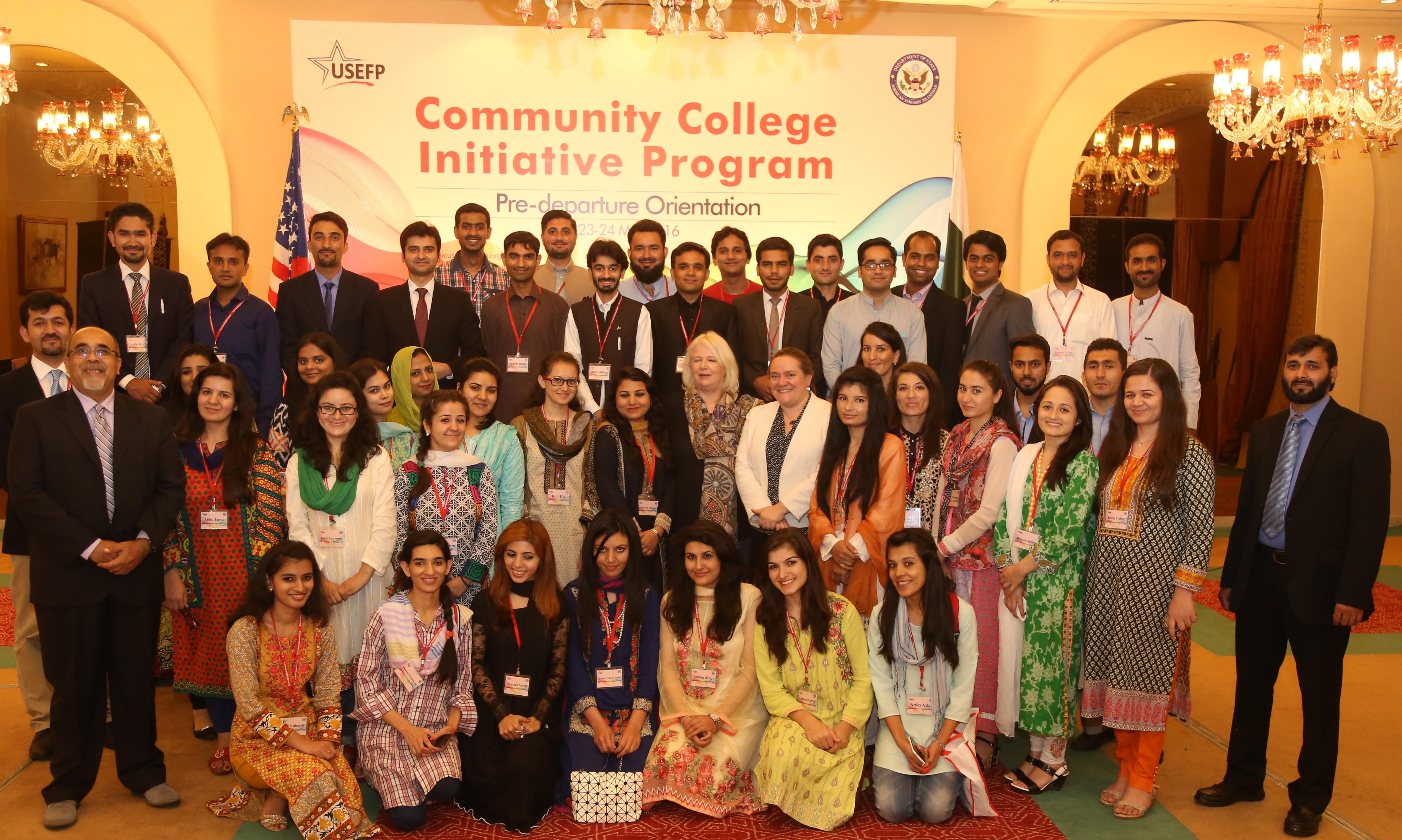 USEFP Executive Director, Rita Akhtar, with CCIP 2016 participants.