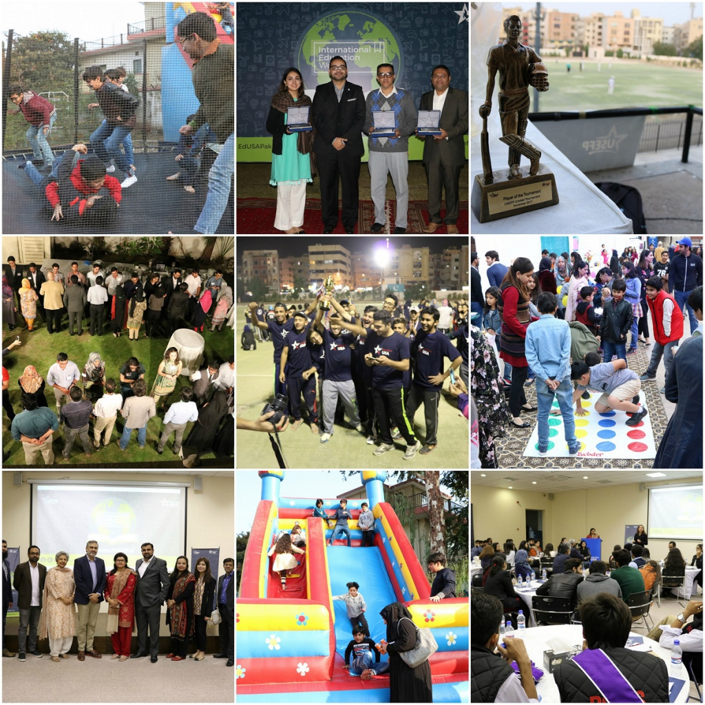 IEW highlights the benefits of international and cultural exchange through a variety of activities.