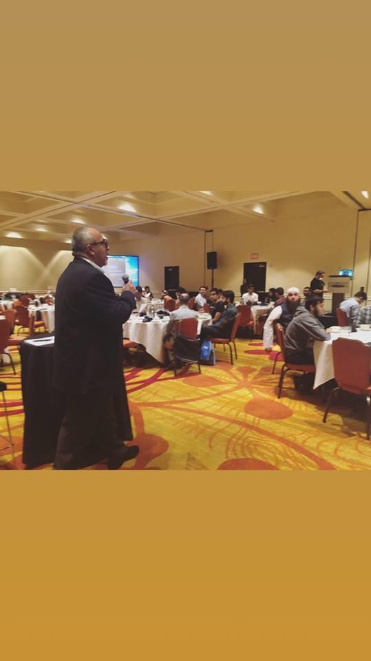 Program Manager, Saleem Abdul Razaque, addressing the participants of the seminar