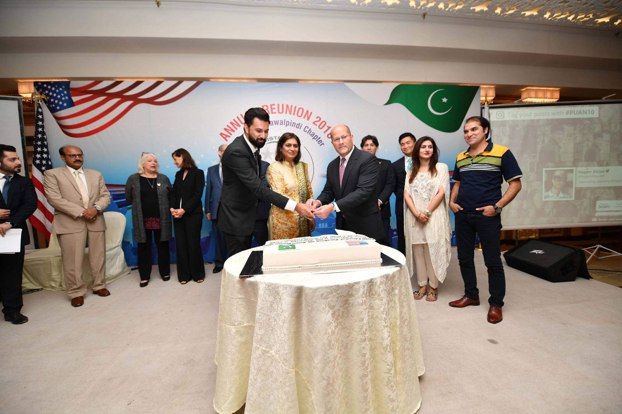 Celebrating 10 years of PUAN at the Islamabad reunion