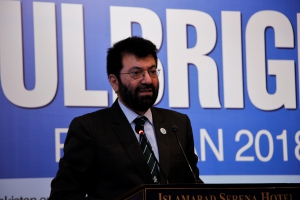 Chairperson Higher Education Commission (HEC), Dr. Tariq Banuri, shares his experience meeting Fulbrighters in the U.S.