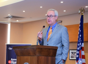 Minister-Counselor for Public Affairs, Christopher Fitzgerald was the guest of honor at the event