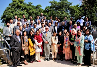 Over 90 Humphrey alumni gathered in Islamabad to attend the 2nd Annual Humphrey Conference