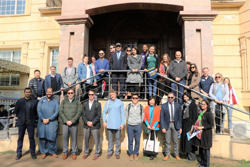 The spring 2019 South Asia Tour brought 41 U.S. university reps to Pakistan