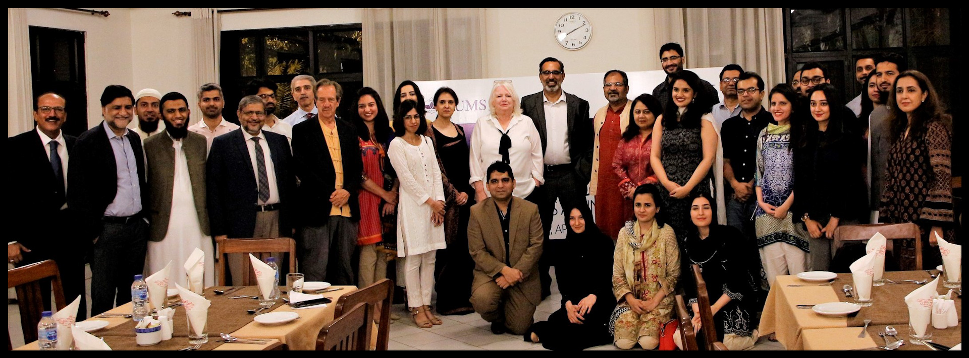 The Fulbright - LUMS alumni dinner celebrated alumni from LUMS who won the Fulbright award