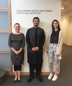 Saving 9 Founder & CEO, Usama Javed Mirza on a visit to Harvard University's Lakshmi Mittal and Family South Asia Institute.