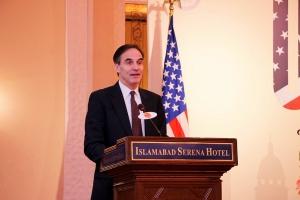 U.S. Ambassador Paul Jones addressing the participants of the PDO