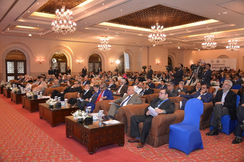 Over 250 education professionals took part in the conference held in Islamabad