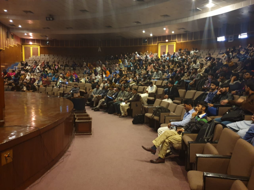GRE Workshop underway at Mehran University of Engineering & Technology