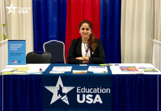 EducationUSA Adviser, Salwa Janjua at the NACAC conference