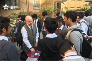 The South Asia Tour facilitates Pakistani students' access to U.S. universities