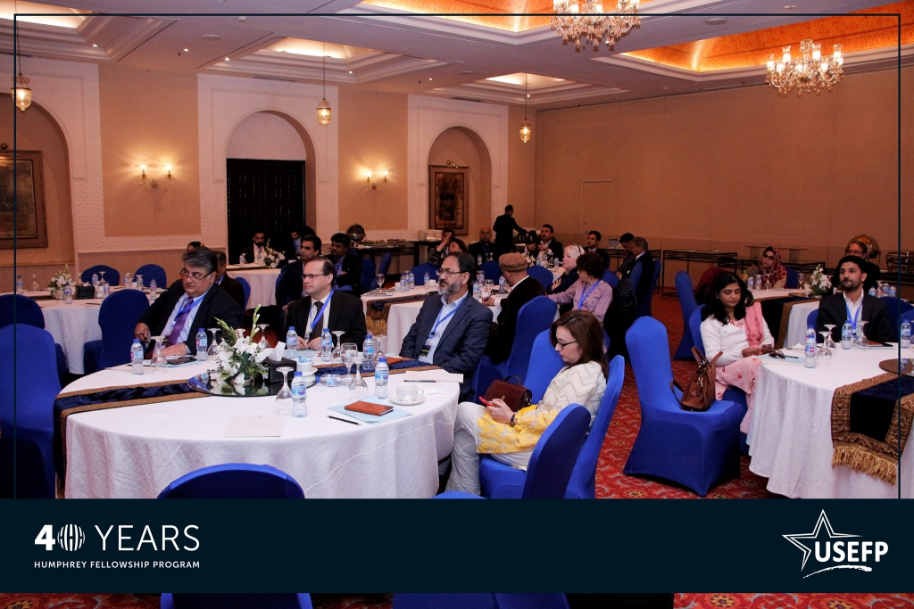 Over 50 Humphrey alumni attended the conference in Islamabad