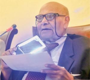Professor Sharif Al Mujahid (Image courtesy: Dawn)
